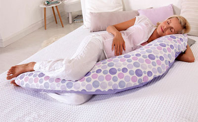 подушка рогалик для удобства