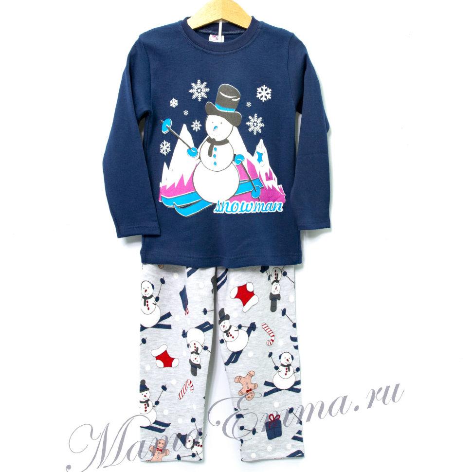 0a93ee08a96bd Детская пижама с зимним рисунком купить в Москве в интернет-магазине ...