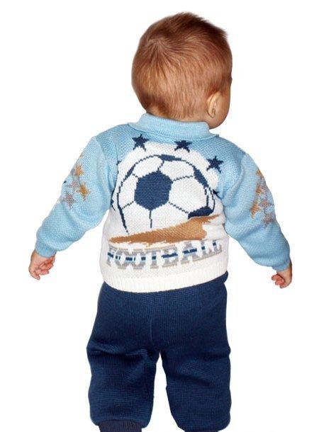 bc48a2444fc ... Вязаный костюм для мальчика