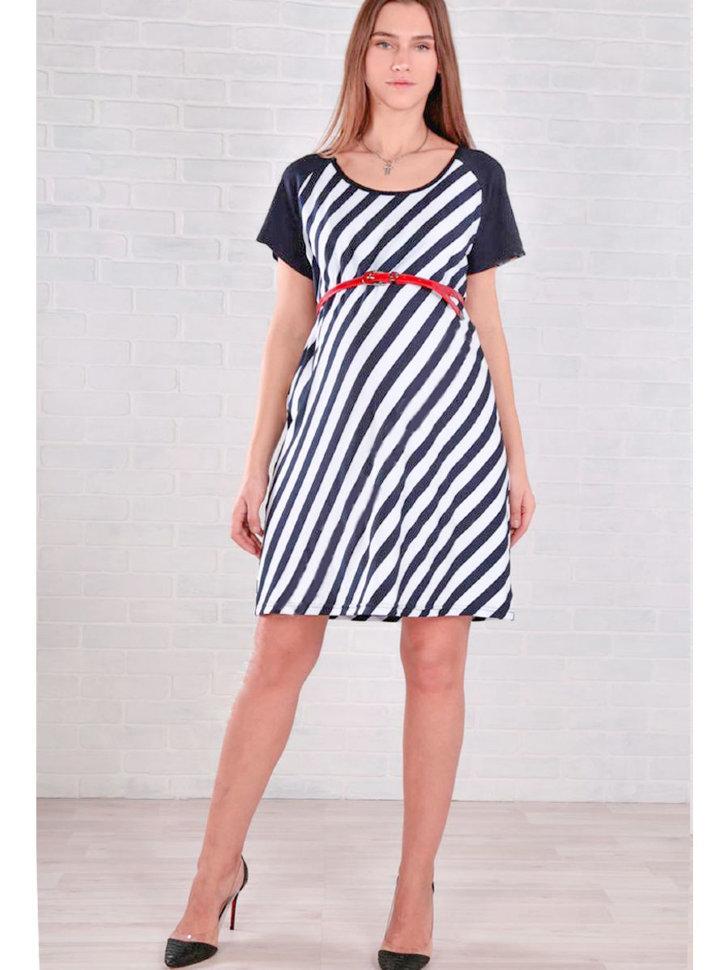 6bfcdc67c4db929 Летнее платье для беременных Euromama Морская полоска купить в ...